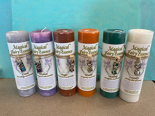 Magical Fairy Essence Candles