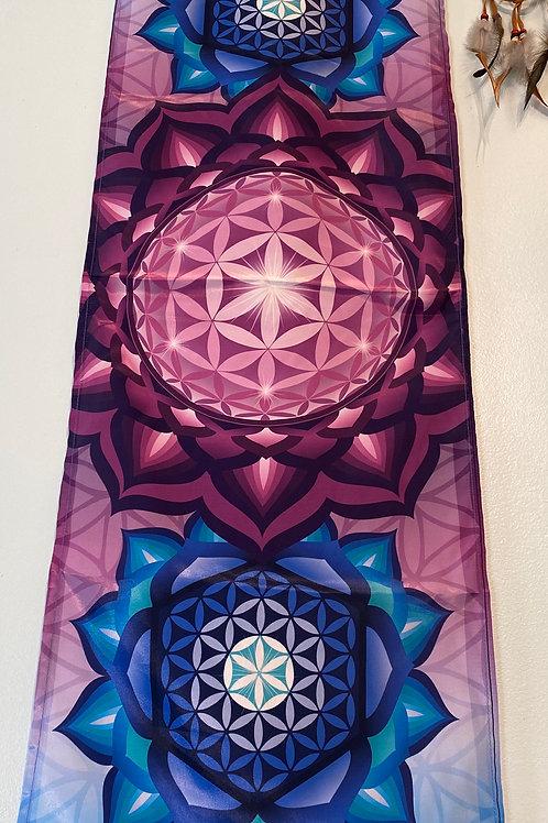 Flower of Life Mandala Banner