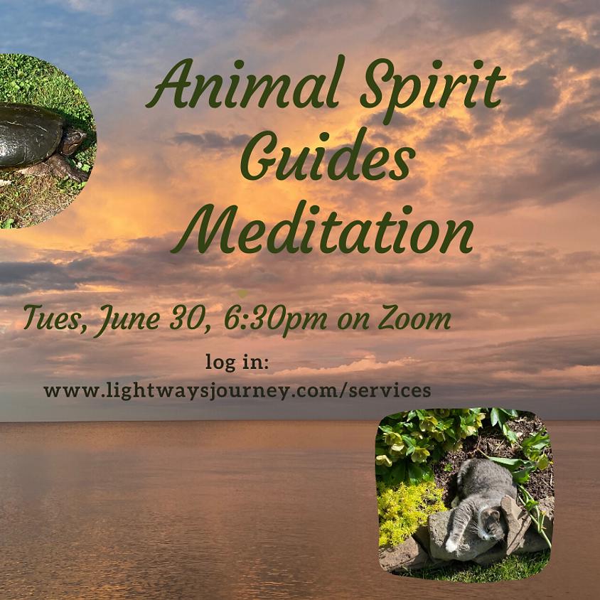 June 30, Animal Spirit Guides on Zoom