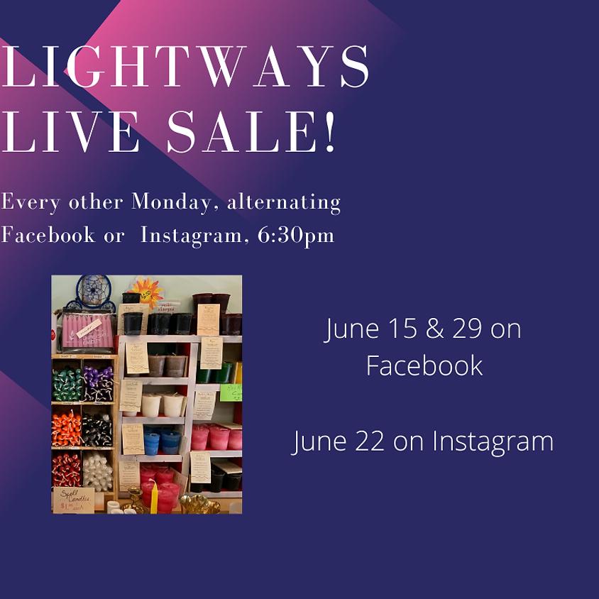 June 15, LIVE Facebook Sale
