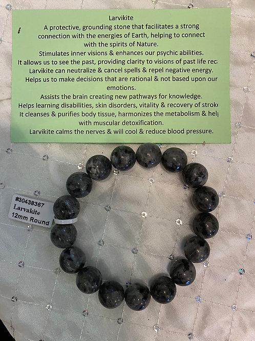 Larvakite Bracelet (12mm)