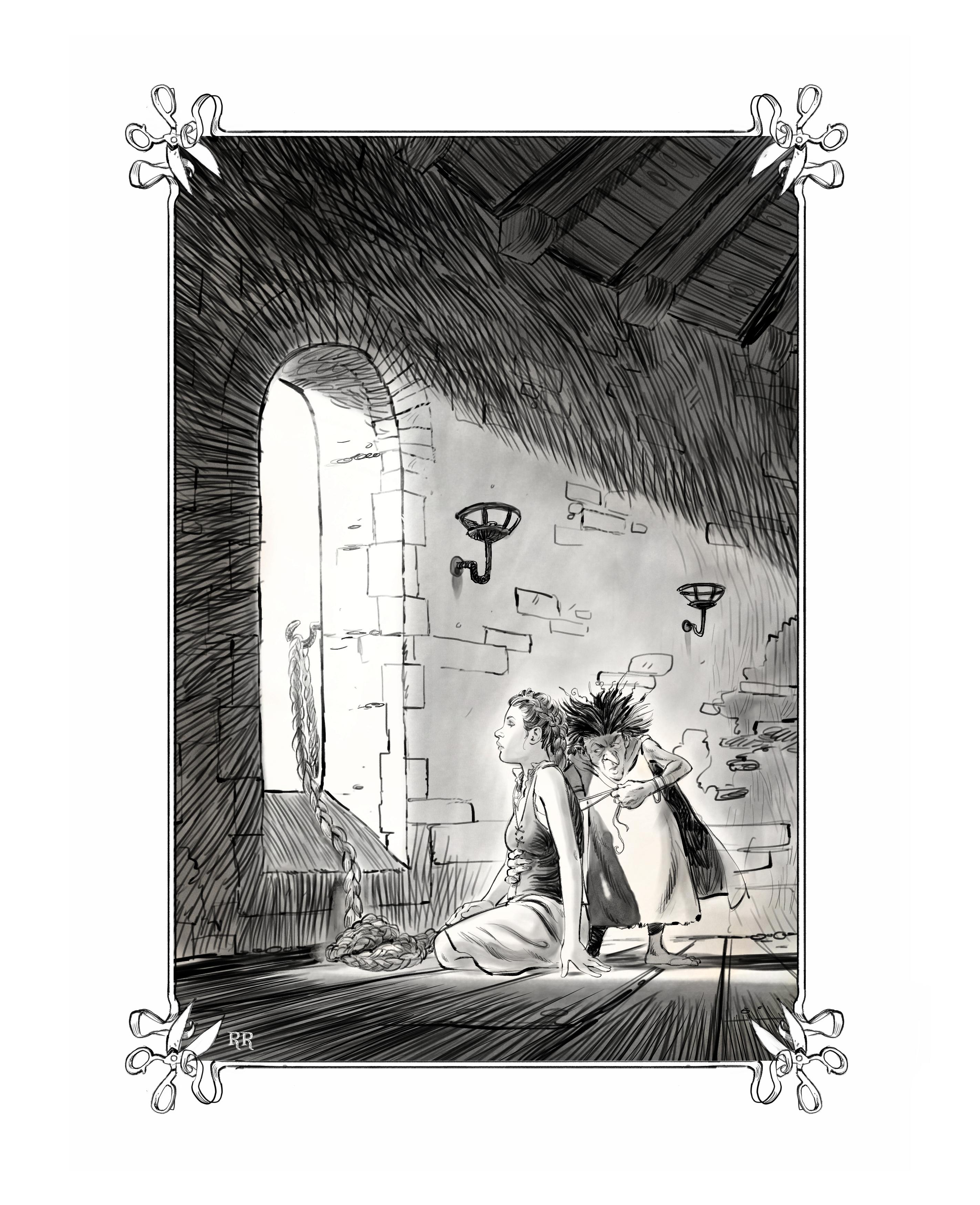 Gothel & Rapunzel