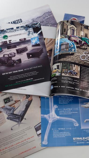 Print Ads & Flyers