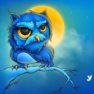 Grumpy Old Owl