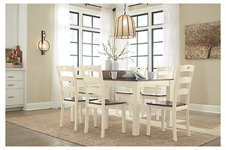 D335 Ashley Woodenvale Dining Room Table