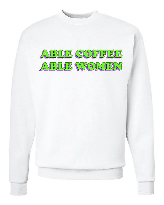 Able Coffee Able Women Crew