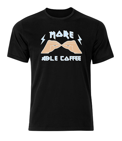 More Able Coffee Tee