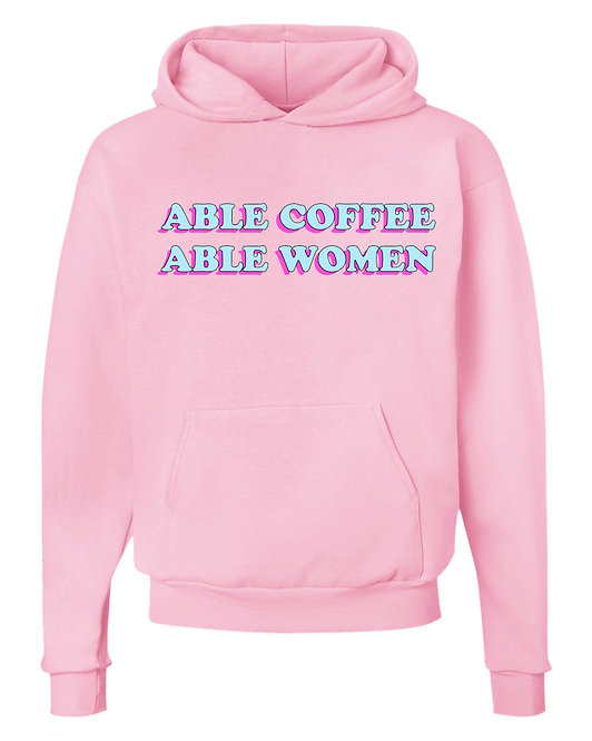 Able Coffee Able Women Hoodie