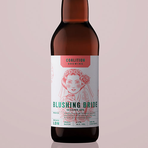 Blushing Bride Session APA - 12 x 33cl bottles
