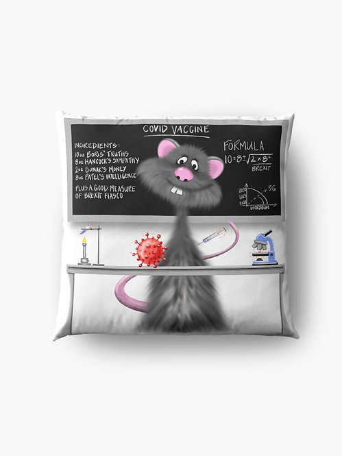 """Lab Rat"" Throw/Floor Pillow"