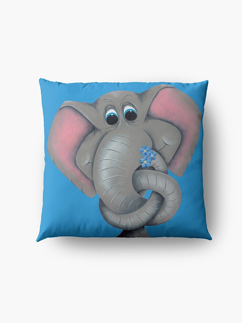 """""""Forget Me Knot Too"""" Throw/Floor Pillow"""