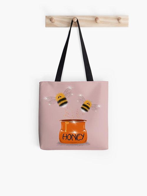 """Show Me the Honey"" Tote Bag"