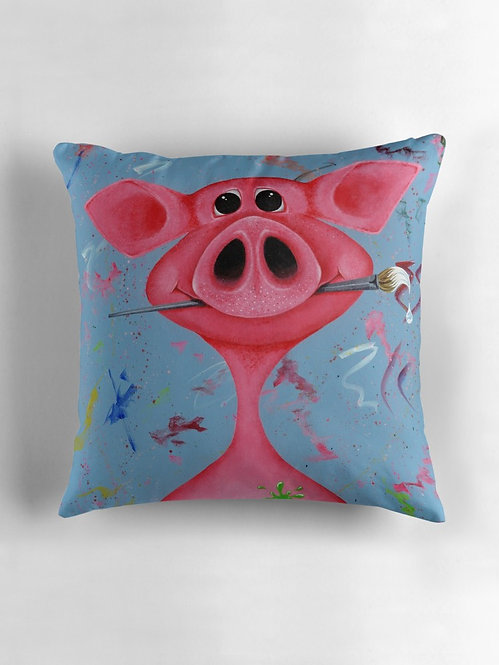 """Pigasso"" Throw/Floor Pillow"