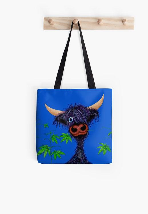 """Pot Callin' the Cattle Black"" Tote Bag"