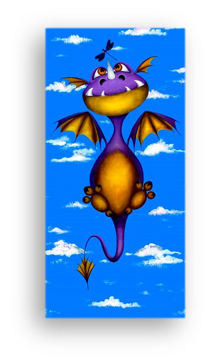 """""""Ever Seen a Dragon Fly?"""" Limited Edition Canvas Print"""