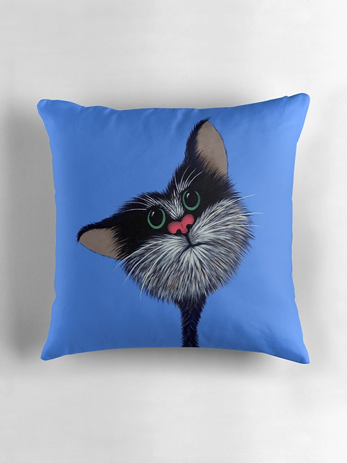 "Cat from ""Bombs Away"" Throw/Floor Pillow"