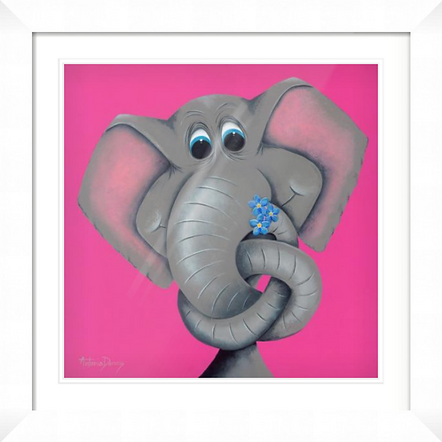 """""""Forget Me Knot"""" Limited Edition Framed Print"""