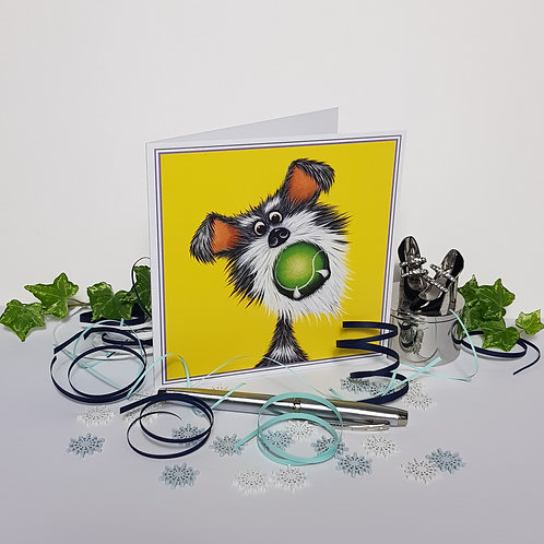 """""""Gobstopper!"""" Pack of 5 Greetings Cards"""