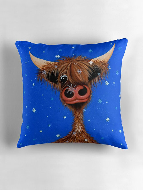 """Heilan Snaw"" Throw/Floor Pillow"