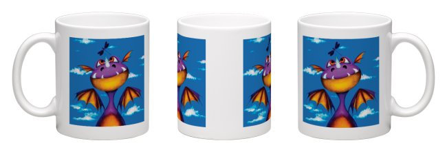 """Ever Seen a Dragon Fly?"" Mug"