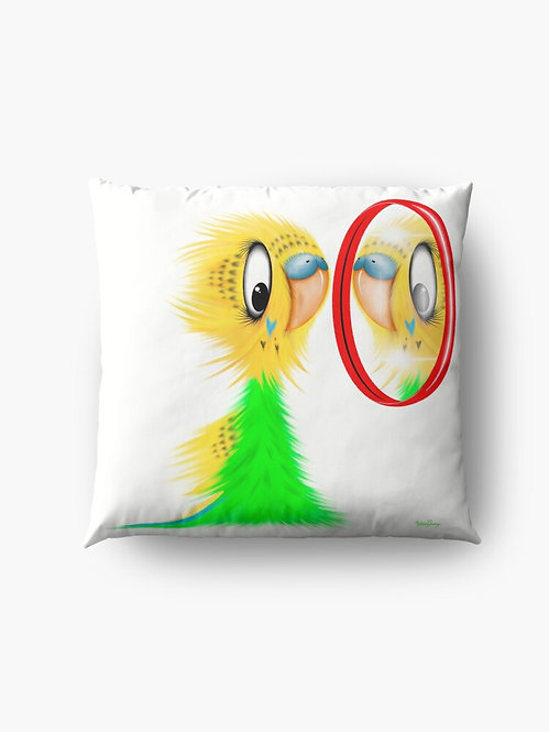 """Who's a Pretty Boy?"" Throw/Floor Pillow"