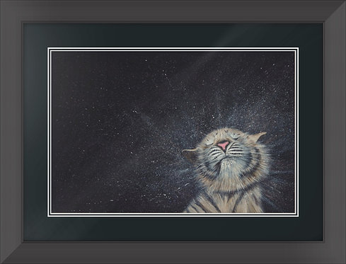 """Bath Time"" Limited Edition Framed Print"