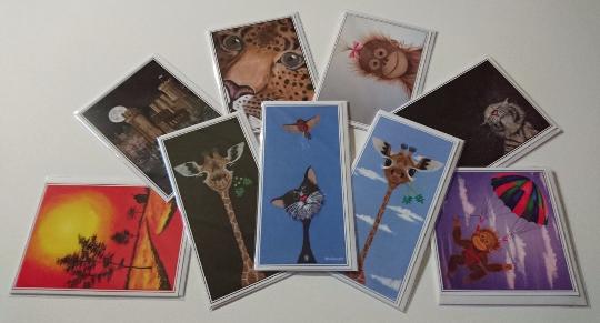 Multipack of Greetings Cards