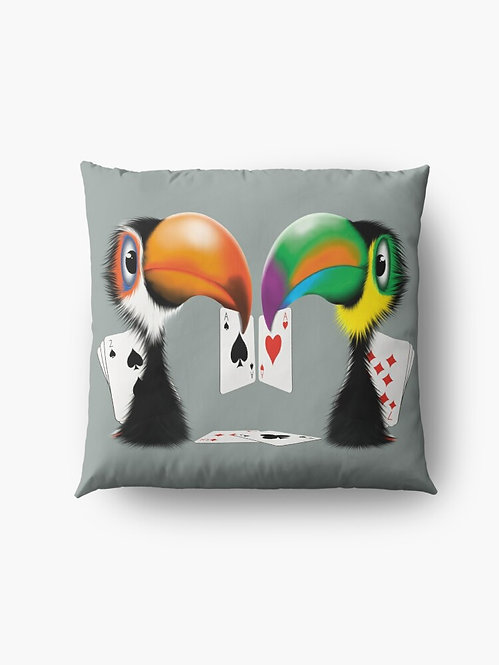 """""""Toucan Play That Game"""" Throw/Floor Pillow"""