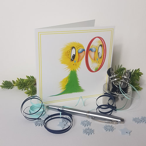 """""""Who's a Pretty Boy?"""" Pack of 5 Greetings Cards"""
