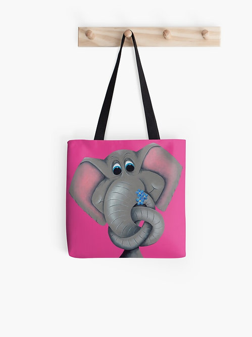 """""""Forget Me Knot"""" Tote Bag"""