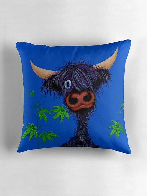 """Pot Callin' the Cattle Black"" Throw/Floor Pillow"