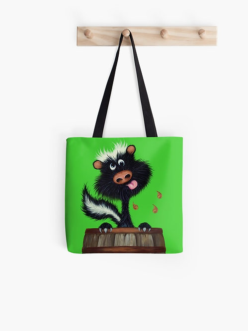 """Drunk as a Skunk"" Tote Bag"