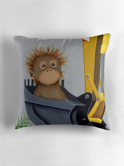"""No Voice"" Throw/Floor Pillow"