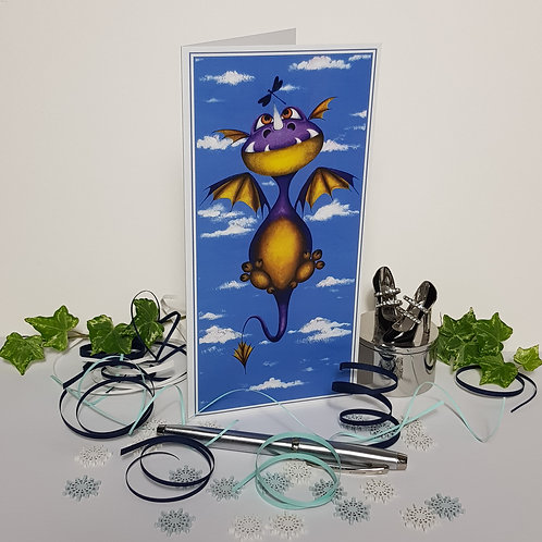 """""""Ever Seen a Dragon Fly?"""" Pack of 5 Greetings Cards"""