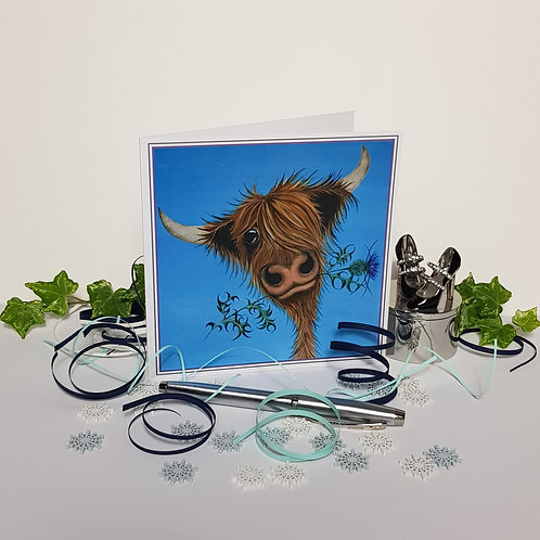 """Prickly Mooment"" Pack of 5 Greetings Cards"