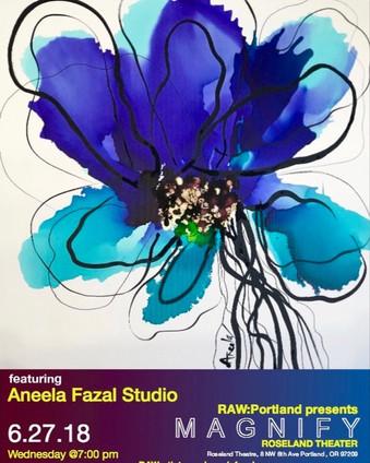 Portland Raw Artist Showcase