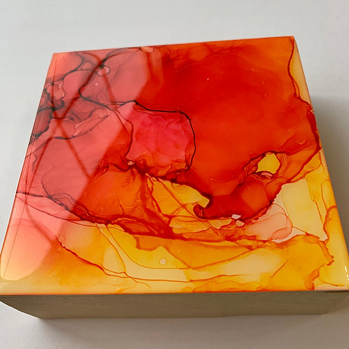 "5"" Alcohol Ink Resin Mini"