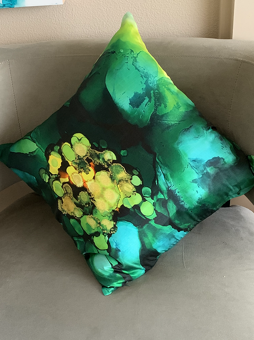 Dream In Color Pure Silk Accent Pillow