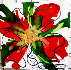 Floral Series – B12 - Framed