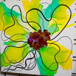 Floral Series – B14 - Framed