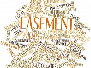 Non-Financial Encumbrances: Easements