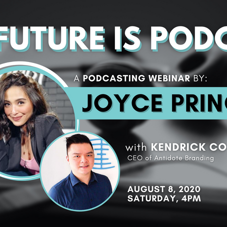 The Future is Podcast : A Webinar by Joyce Pring