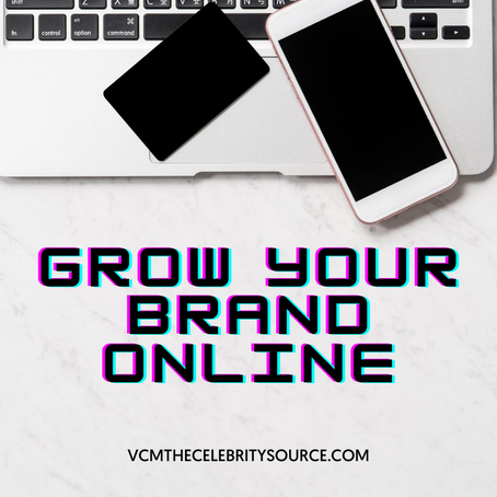 Growing Your Brand Online is Real Work for VCM The Celebrity Source