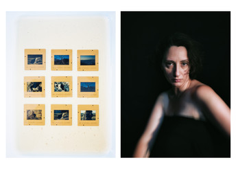 BIOMYTHOGRAPHIES #1 (Diptych).