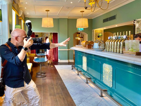 On location at the Richmond Hill Hotel for a two day portrait commission 24.8.21.