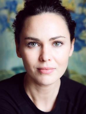 Caroline O' Hara (actor) - Location Portrait for publicity/PR.