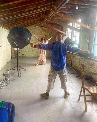 Photoshoot with Mezzosoprano Desiree Baraula.