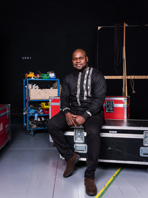 Blaise Maleba (Bass).