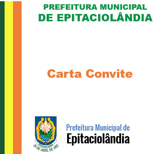 Carta Convite 01/2017 (assessoria técnica em licitações)