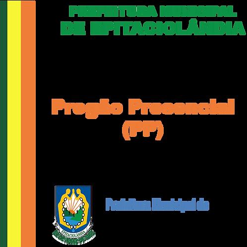 PP SRP 013/2020 - Material de Consumo Hospitalar